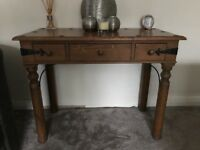 Canadian Pine Consol Table