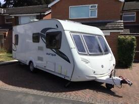 Sterling Europa 545 caravan (4 berth) 2011
