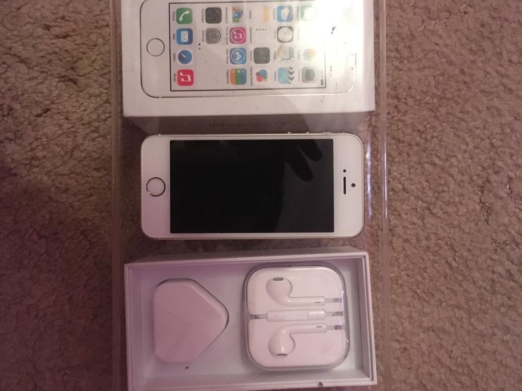 iPhone 5s on EEin Durham, County DurhamGumtree - iPhone 5s on EE good condition Touch ID is playing up so selling cheap phone is boxed with accessories