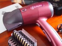 Babyliss Beliss Hair Dryer Straighten, smooth and shine as you dry 4 straightening settings