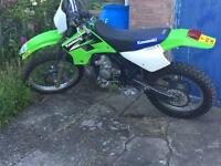 Kawasaki kdx 200 mint condition