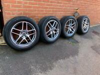 "Mercedes GLC alloy wheels 19"" bi colour"