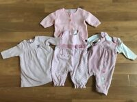 Baby girl newborn to 1 month, Next clothes