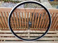 Mavic Cosmic Elite 700c front wheel + Mavic 25mm tyre