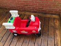 Little tikes fire truck SOLD WAITING COLLECTION