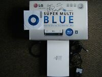 LG Super Mltu Blue ExternalBlue-Ray Disc Rewriter