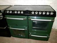 Belling 110 all gas black and green range