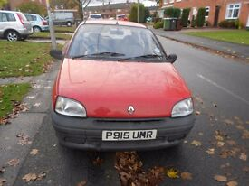 renault clio, good runner with 9 months MOT. Ideal for a 2nd run around car