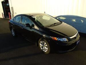 2012 Honda Civic LX (REPLACED FRONT PADS)