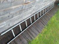 LADDER scaffolding 4m GALVANISED STEEL pole INDUSTRIAL