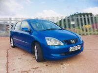 2005 Honda Civic 1.6 Executive full year mot great example