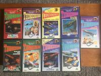 Thunderbirds Rare VHS 9 video tapes For Sale