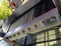 $ 1,200 NEW!! Commercials Grill Chief 4 foot long BBQ