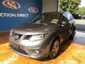 2015 Nissan Rogue SL AWD/ PANO ROOF/ NAVI/ HEATED LEATHER