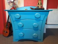 Funky kids bedroom furniture - Brian Bailie, wardrobe, drawers and chair