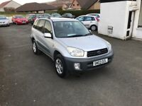 Toyota RAV4 2.0 VVT-i NV 5dr*ONLY 45,725 Miles*One Owner From New*Excellent Service History*