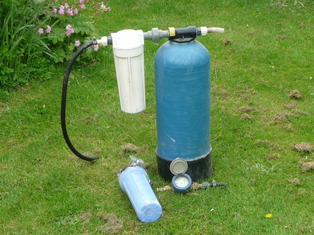 pond water purifier meter and filters in bourne