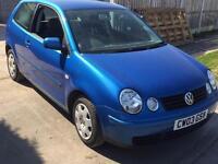 2003 03 Vw Volkswagen Polo 1.2s