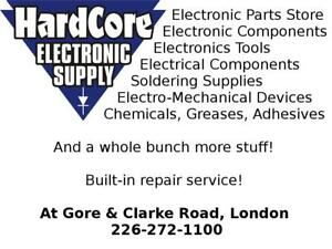 Electronic & Electrical Parts and Supplies store opened at Gore and Clarke Road!