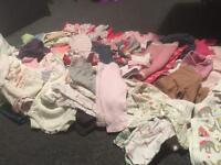 Baby girls 6-9 month bundle (90 items)