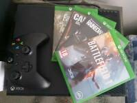 Xbox One 500GB Console + 4 Games
