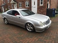 Mercedes clk230 spares and repairs
