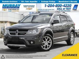 2014 Dodge Journey R/T *Leather Heated Seats, Climate Control*