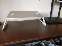 Stylish wooden laptop stand