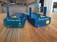 2 Laser Lights (different patterns)