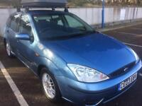 2003 FORD FOCUS 1.6 WITH APRIL 2018 MOT, ROOF BOX, ONLY 100,000 MILES