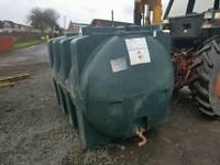 Titan 2500 litre oil tank or diesel bio fuel storage