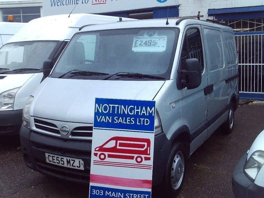 NISSAN INTERSTAR SWB NO-VAT Only £2295