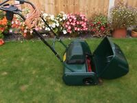 """Atco Winsor 14"""" electic self propelled lawn mower"""