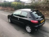 Peugeot 206 + 2001 + DIESEL + 3 DOOR + tested June 2018 + ideal cheap runabout