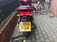 Honda pcx 66 pleat low miles 2930