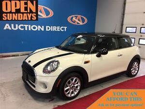 2016 MINI Cooper 3 Door Cooper, ALLOYS, PANO ROOF, HEATED SEATS!