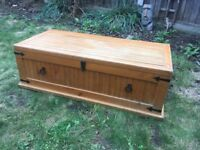 Wooden Trunk - Chest/Coffee Table £100