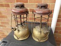 Pair of Tilley lamps for repair