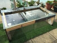 Stylish compact greenhouse, glasshouse, seed box to suit garden, patio, terrace, allotment, school