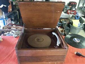 Nice old antique record player