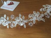 Bridal hair vine - tiara, accessory, hairpiece