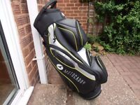 """A """" MOTOCADDY PRO Series """" Cart Bag. ( AS NEW )"""