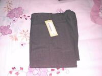 girls new 2 pack grey school trousers