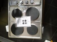 Electric Hob ,unused, still in box. Stainless steel.