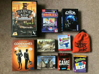 10 Board Games Bundle - Valley of the Kings, Codenames, The Crew, Hive Pocket + more boardgames