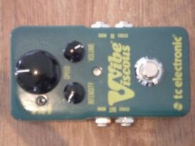 TC Electronics Viscous Vibe Pedal