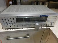 Vintage JVC Model R-S33L Super A Stereo Amp/ Receiver 5 Band Graphic Equalisers Built in Phonostage