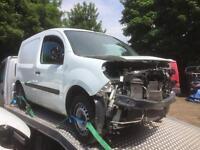 Renault kangoo van 2012 62 spares or repairs damage repairable £1295