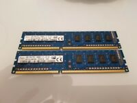 DDR3 8GB 1600MHz Desktop Ram Kits - New (Also 16GB Kits Available)