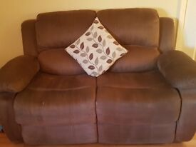 3 + 2 seater recliner sofas